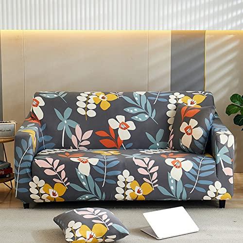 Mrzyzy Funda Sofa Elasticas 1 2 3 4 Plazas Soft Fundas de Sofa Ajustables Fundas Decorativa para Sofá Estampadas Impresa Cubre Sofa (Color : B, Size : 4 Seater (235-300cm))