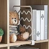 Productos domésticos MMGZ 2 PCS Armario ropero Caja de Almacenamiento Independiente Panel de estantería (Gris) (Color : White)
