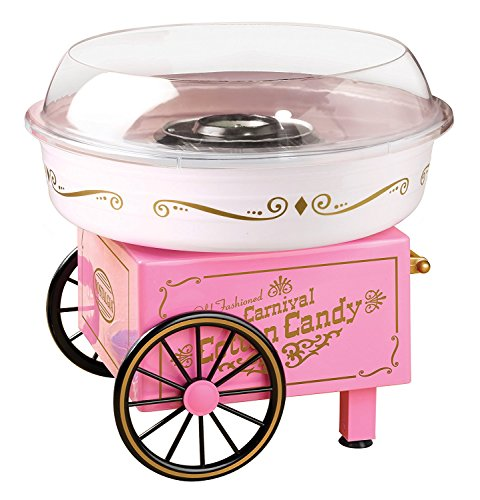 Nostalgia PCM305 Vintage Hard & Sugar-Free Cotton Candy Maker, Main, Pink