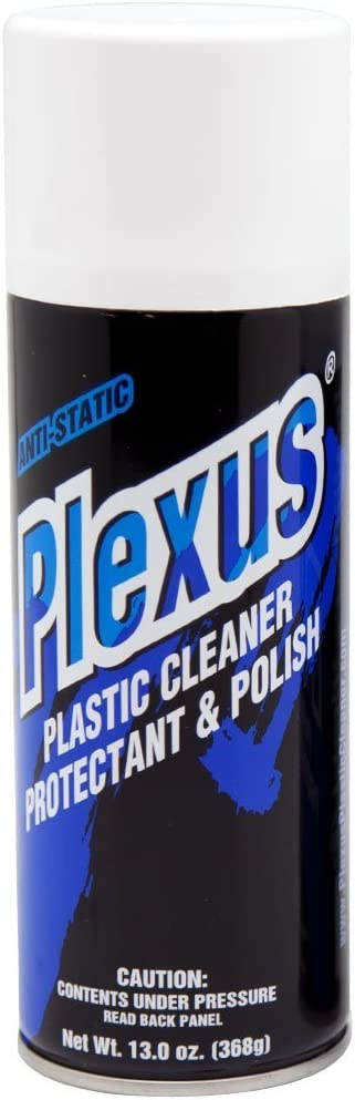 Plexus Plastic Cleaner - Protectant and Polish -13 Ounce (Case o