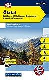 Ötztal, Sölden, Mittelberg, Obergurgl, Pitztal, Kaunertal: Nr. 06, Outdoorkarte Österreich, 1:50 000, Freemap on Smartphone included (Kümmerly+Frey Outdoorkarten Österreich)