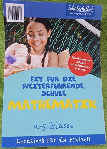 Schülerhilfe Fit für die weiterführende Schule MATHEMATIK 4.-5.Klasse Lernblock für die Freizeit von Köln, www.lueckenlos.eu Text und Layout: lückenlos (2010) Nicht gebunden