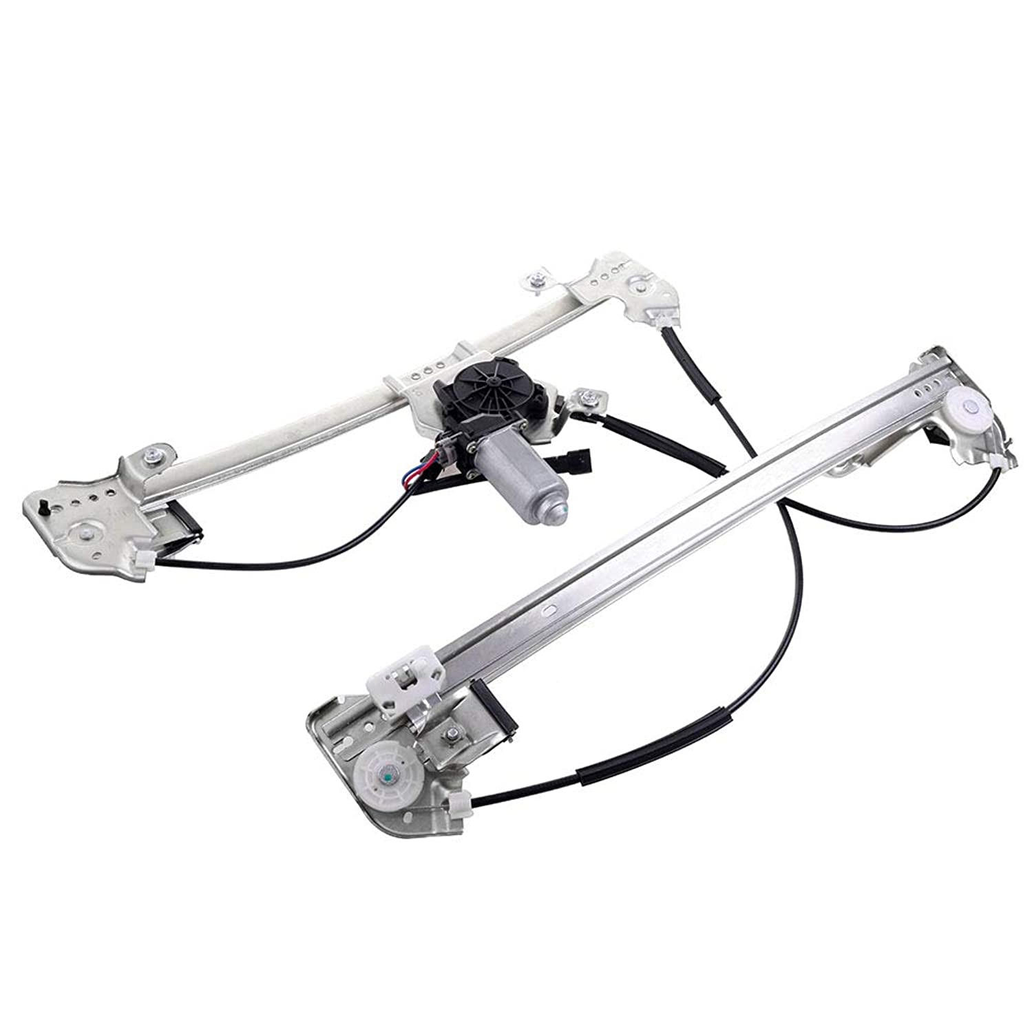 Power Window Regulator with Motor Replacement Front Right Passengers Side Window Regulator fit for 2004-2008 Ford Truck 2004-2008 Ford F150 (Fits Crew Cab (Extended cab) Only) 4L3Z1823200BA 741431 bzol883691722