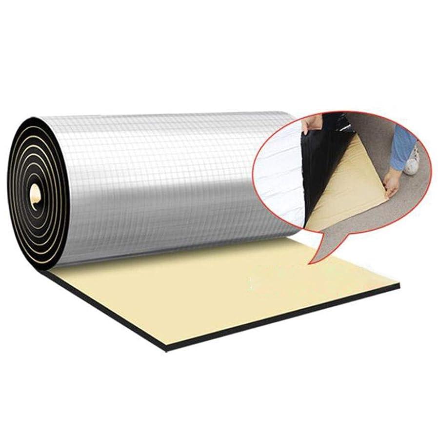 リーガンサイレントにんじんLSXIAO 自己接着 断熱綿、 サイレンサー綿、 厚さ20mm 環境を守ること 無味 防水 難燃性 サンルーム ルーフ 断熱ボード (Color : Silver, Size : 1x4m)