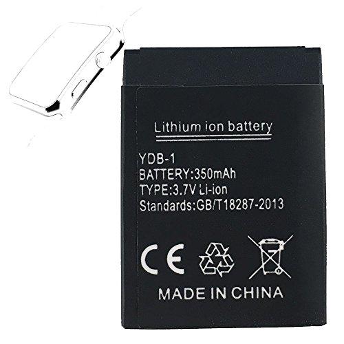 OCTelect Smartwatch Batterie X6 wiederaufladbare Lithium-Batterie mit 350MAH Kapazität