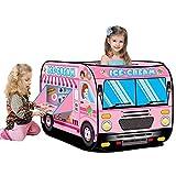 Forart Kinder tauchen auf Spielzelt Feuerwehrauto Polizei Spielzeugauto Schulbus Eiswagen Spielzelt...