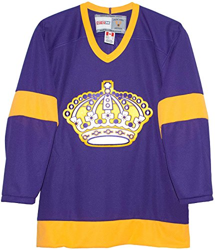 CCM Vintage Los Angeles Kings 1967 Purple Jersey (Large)