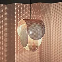 Modern Led Pendant Lights pink color For Living Room Bedroom Home Lighting Fixtures Pendant lamps (Body Color : 40X60cm)