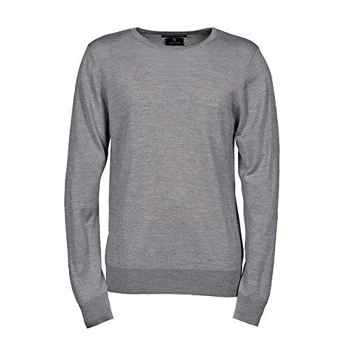 Tee Jays Herren Sweatshirt/Pullover mit Rundhalsausschnitt (L) (Hellgrau)
