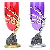 Demiawaking Tazze di Vino di Modello del Fantasma Decorazione di Halloween per Bar KTV (Colore Casuale)