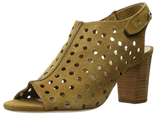 Loeffler Randall Alix - Zapatillas de Caballo para Mujer, Color Negro, Color Rojo, Talla 36.5 EU