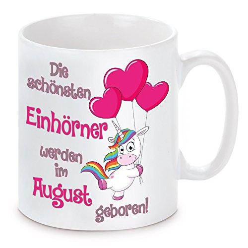 Lieblingsmensch Favoritos Humanos Taza con diseño de los Mejores Unicornios de septiembre,...