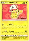 Pokemon - Ash's Pikachu - SM109 - Black Star Promo