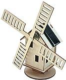 sol-Expert - Mulino a Vento Solare - Kit di Legno Olanda