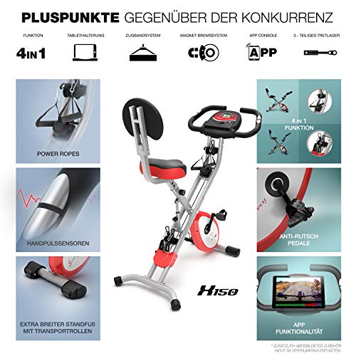 Sportstech X150 4in1 Heimtrainer mit Smartphone APP - 6