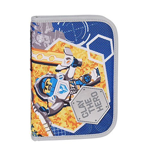 Lego Nexo Knights Clay the Hero Kinder Federmappe, Blue