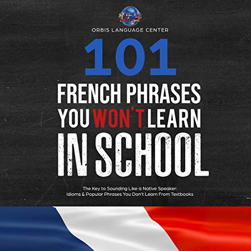 101 French Phrases You Won't Learn in School audiobook cover art