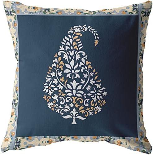 Amrita Sen Washington Mall Designs Fall Leaf White Broadcloth Outstanding an Pillow Zippered