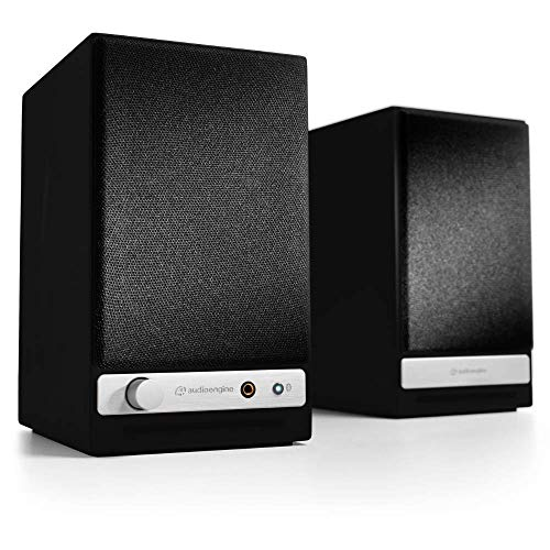 Audioengine HD3 Wireless Speaker | Desktop Monitor Speakers | Home Music System aptX HD Bluetooth,...