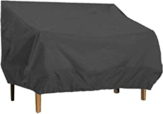Patio Bench Cover Waterproof, 3-Seater 420D Heavy Duty Outdoor Loveseat Lounge Cover Patio Furniture Cover for Bench, Love...