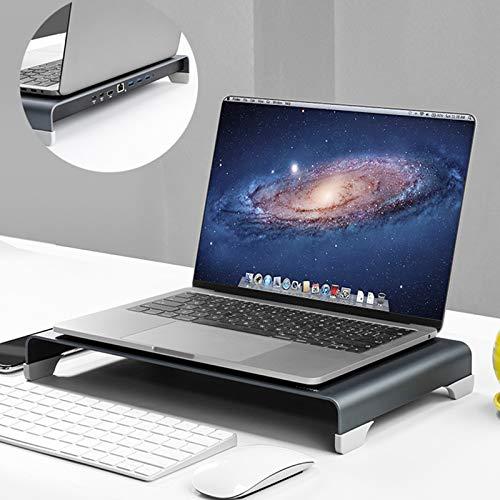 AWYLL Soporte Vertical para Monitor con CPD-1, conexión de alimentación · 1, HDMI1, Gigabit Ethernet · 1, USB 3.0 * 3 Soporte de Transferencia de Datos para computadora portátil MacBook PC o Matebook