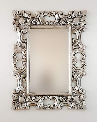 Rococo Espejo Decorativo de Madera Eiffell de 60x80cm...