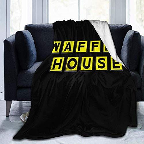 Engshi Mantas para Cama Waffle House Luxury Comfort Warm Fluffy Plush Hypoallergenic Blanket for Bed Sofa Chair Autumn Winter Living Room