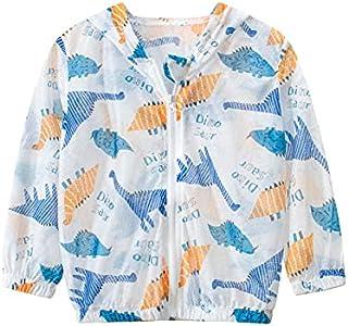 UVカットジャケット パーカー かわいい柄 薄手 長袖 軽量 ブルゾン 夏 冷房対策 虫除け 子供服 子供用