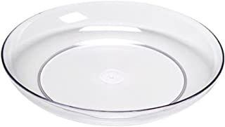Smither Oasis 6 Inch Lomey Clear Designer Dish, Pack 24