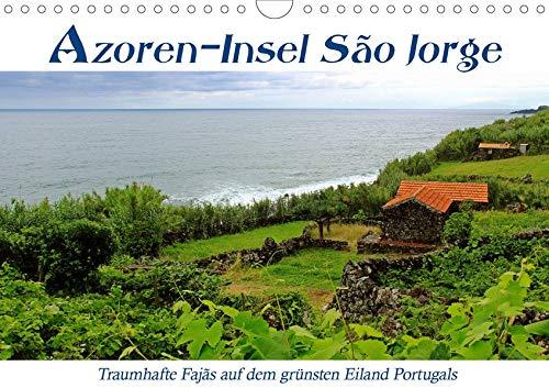 Azoren-Insel Sao Jorge – traumhafte Fajas (Wandkalender 2020 DIN A4 quer): Erlebe spektakuläre Wanderungen auf Höhenwegen und alten Saumpfaden entlang ... (Monatskalender, 14 Seiten ) (CALVENDO Natur)