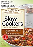 Orrington Farms Slow Cookers Vegetable Beef Stew Seasoning Mix, 2.5 Ounce (Pack Of 12)