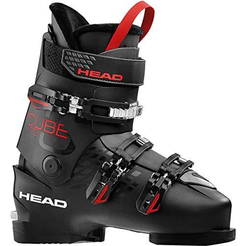 HEAD Herren Cube 3 70 Skischuhe, Black/Anthracite/Red, 285