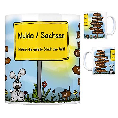 trendaffe - Mulda/Sachsen - Einfach die geilste Stadt der Welt Kaffeebecher