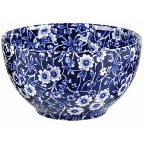 Burleigh Blau Calico Sugar Bowl 9.5cm