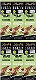 Lindt Hello Vegan - Bebida de avellana y chocolate (6 x 100 g)