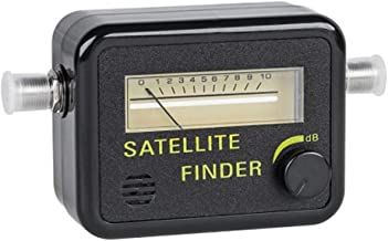 STEREN Satellite Finder With Analog Meter 200-992