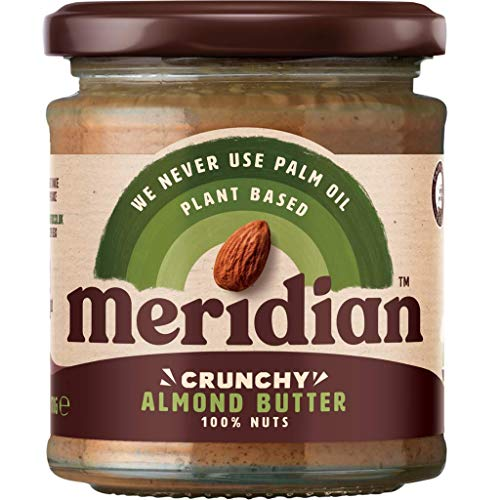 Meridian 100% Crunchy Almond Butter 170g by Meridian