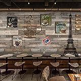 CQDSQN 3D pegatinas de pared Papel pintado Arquitectura del paisaje torre de parís PVC Auto-adhesivo Mural Tienda Hotel Café Internet Gimnasio Yoga Tienda de ropa Tienda de mascotas Pel(W)300x(H)210cm