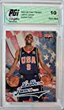 LeBron James 2003-04 Skybox/Fleer Team USA Rookie Card PGI 10 Lakers - Basketball Slabbed Rookie Cards. rookie card picture