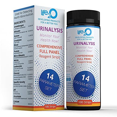 Comprehensive 14-in-1 Urine Test Strips 100ct | Urinalysis...