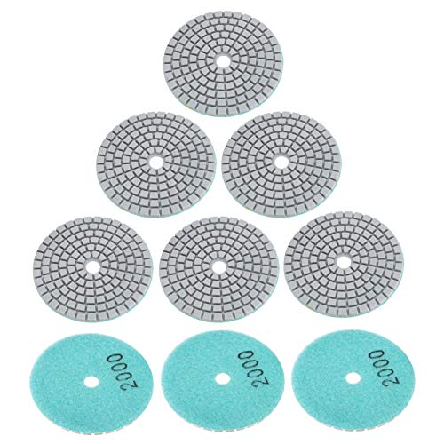Discos de lijado de respaldo de pulido 100% nuevos de 3 pulg.