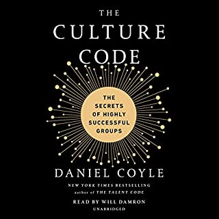 The Culture Code     The Secrets of Highly Successful Groups              De :                                                                                                                                 Daniel Coyle                               Lu par :                                                                                                                                 Will Damron                      Durée : 7 h et 13 min     3 notations     Global 4,7