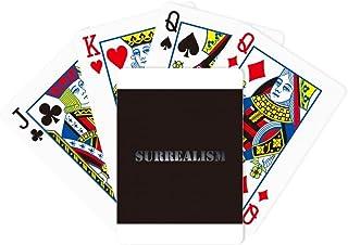 Surrealism Psychic Automatism Poker Playing Magic Card Fun Board Game