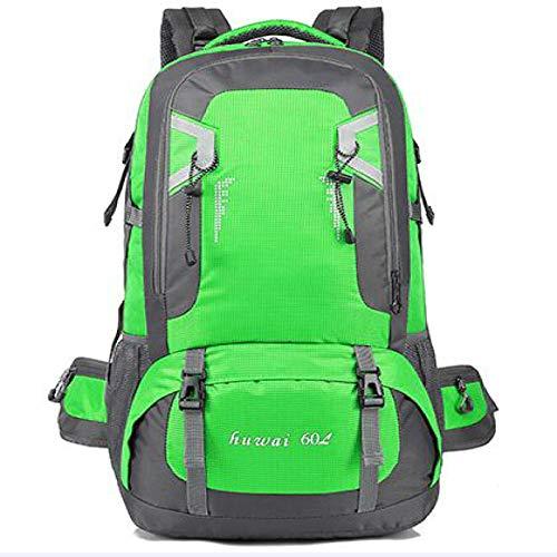 HUANGDANSEN Running Backpack 60L Waterproof Unisex Backpack | Travel Bag Sports Bag Outdoor Climbing Rock Climbing Hiking