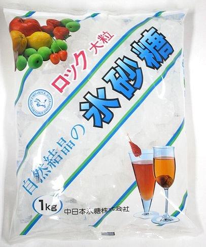 中日本氷糖 馬印 ロック氷砂糖 1kg