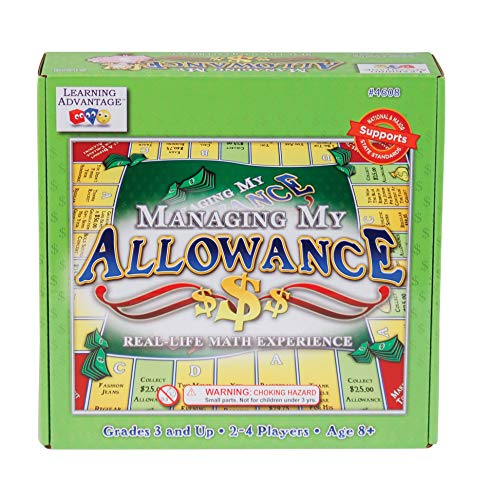 LEARNING ADVANTAGE - 4608 Learning Advantage Managing My Allowance Money Game