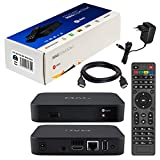 MAG 322w1 Original Infomir & HB-DIGITAL IPTV Set TOP Box mit WLAN WiFi integriert 150Mbps (802.11 b/g/n) Multimedia Player Internet TV IP Receiver HEVC H.256 Nachfolger von MAG 254 + HDMI Kabel