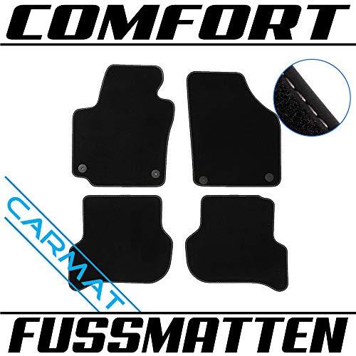 Fussmatten für VVVV Golf V Plus Bj. 2005-2014 Autoteppiche Comfort