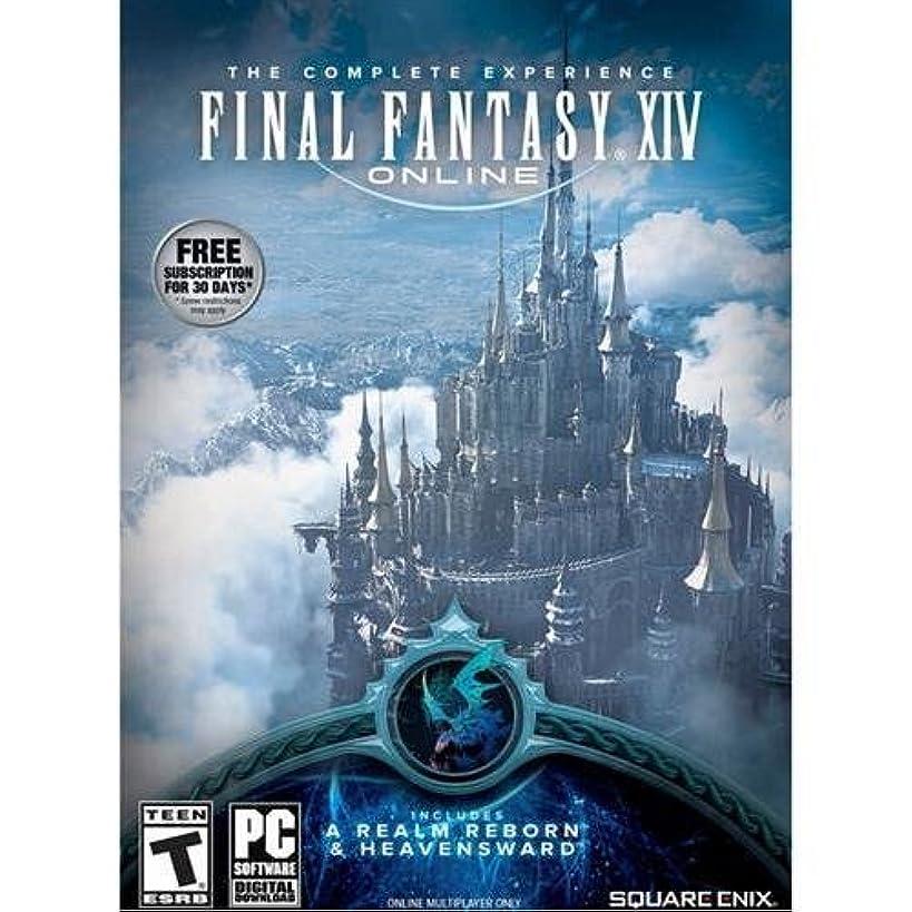 Square Enix 91709 Final Fantasy XIV: ARR + HW Launch Edition Bundle for PC
