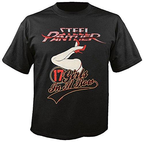 Steel Panther - 17 Girls - T-Shirt Größe M